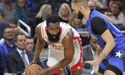 Rockets, Harden'ın 54 sayı attığı maçta Magic'i yendi