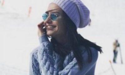 Yasemin Özilhan kar sezonunu açtı