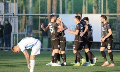 Aytemiz Alanyaspor 2-1 Partizan Tiran