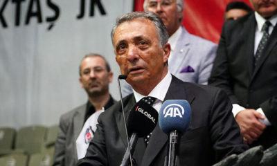 Beşiktaş Başkanı Ahmet Nur Çebi: Omuz omuza olmamız gerekiyor