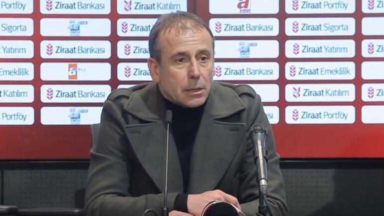 Beşiktaş Teknik Direktörü Abdullah Avcı, kameralara yansıyan sözü için cevap verdi