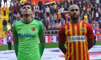 Kayserispor'da Lung ve Aymen Trabzonspor maçında yok