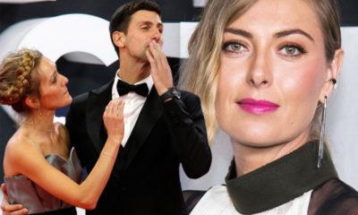 Maria Sharapova ve Novak Djokovic'ten Avustralya için örnek davranış