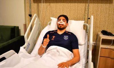 Medipol Başakşehir'de Berkay Özcan, ameliyat oldu