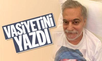 Mehmet Ali Erbil, vasiyetini hazırlattı