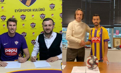 Mehmet Özdıraz ve Murat Yılmaz Eyüpspor'da