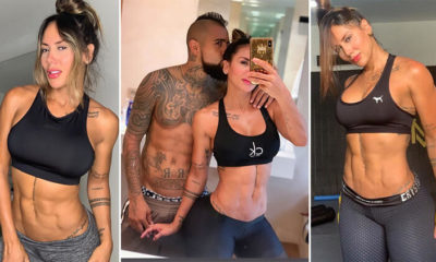 Transfer yuva yıktı! Vidal ve fitness modeli sevgilisi Sonia Isaza…