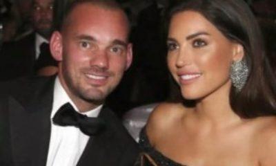Wesley Sneijder, Yolanthe'yi yine aldattı