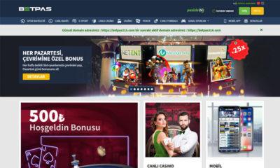 Betpas Canlı Bahis ve Casino Sitesi