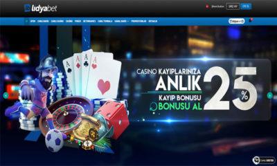 Lidyabet Canlı Spor Bahisleri ve Casino