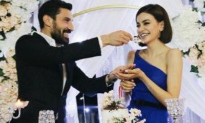 Şener Özbayraklı ve Şilan Makal nişanlandı