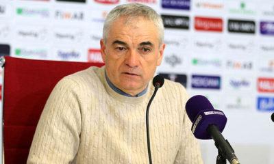 Sivasspor teknik Direktörü Rıza Çalımbay: Hakkımız olan bir penaltıydı