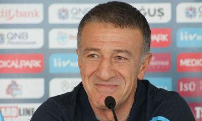Trabzonspor Kulübü Başkanı Ahmet Ağaoğlu: Ayakları sürüye sürüye gideceğiz