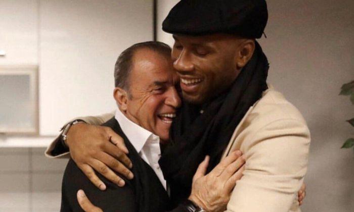Didier Drogba'dan Fatih Terim ve Abdurrahim Albayrak paylaşımı