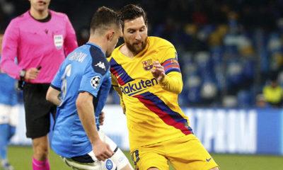 Futbolun zirvesine koronavirüs engeli Barcelona- Napoli maçı tehlikede