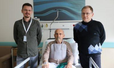 Isparta'da kalbi duran 71 yaşındaki hasta hayata döndürüldü