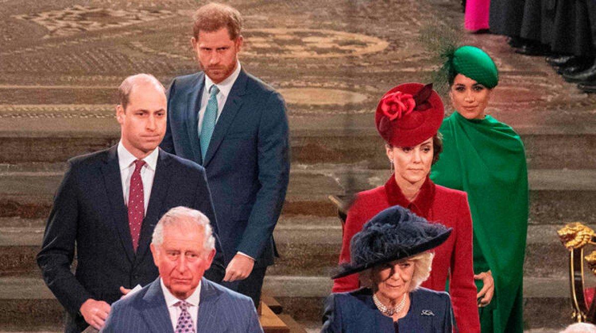 Meghan Markle ve Prens Harry son kraliyet görevinde