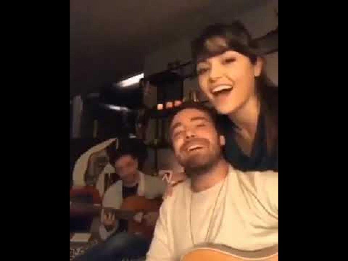 Murat Dalkılıç ile Hande Erçel canlı yayın yaptı