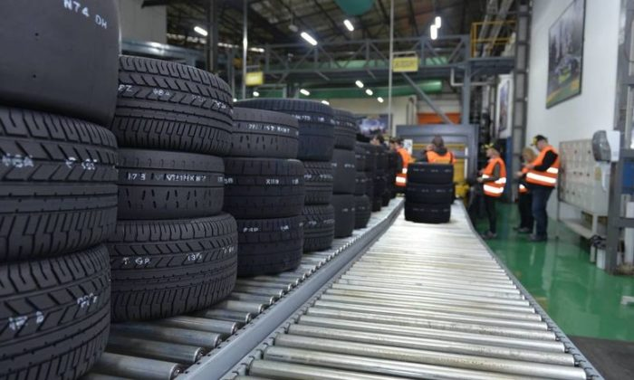 O kentte lastik üretiminin %95'i duracak