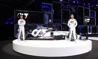 Scuderia AlphaTauri Honda tanıtıldı