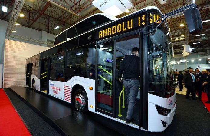 Yerli ve elektrikli otobüsler sahneye çıktı