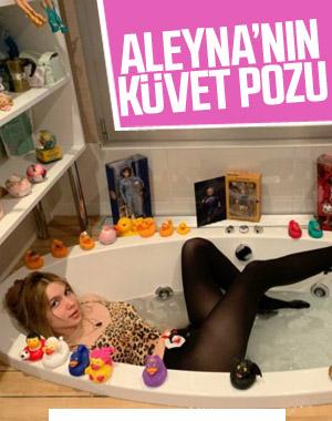 Aleyna Tilki, küvetten fotoğraf paylaştı