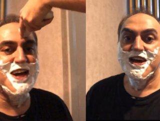 Arkadaşları Arto'yu tıraş etti