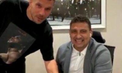 Lukas Podolski: Antalya'da güvendeyim