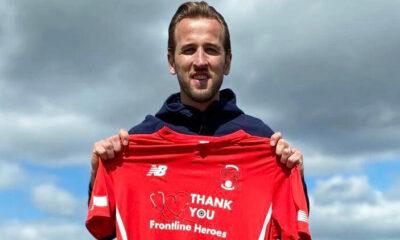 Harry Kane eski takımına forma sponsoru oldu
