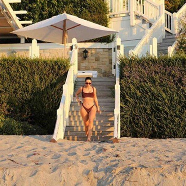 Kim Kardashian'ın karantina tatili
