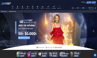 Safirbet Spor Bahisleri ve Casino Sitesi