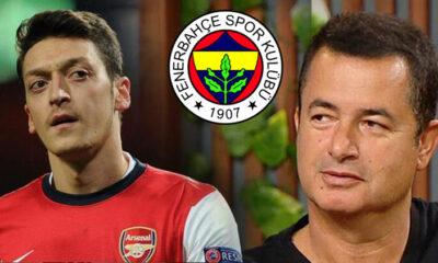Son Dakika | Acun Ilıcalı canlı yayında bombayı patlattı! Mesut Özil, Fenerbahçe'ye…