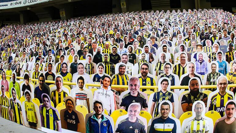 Fenerbahçe Kulübü, Ülker Stadına taraftar kartonetleri yerleştirdi