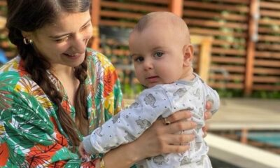 Hazal Kaya oğlunun babasına benzediğini kabul etti