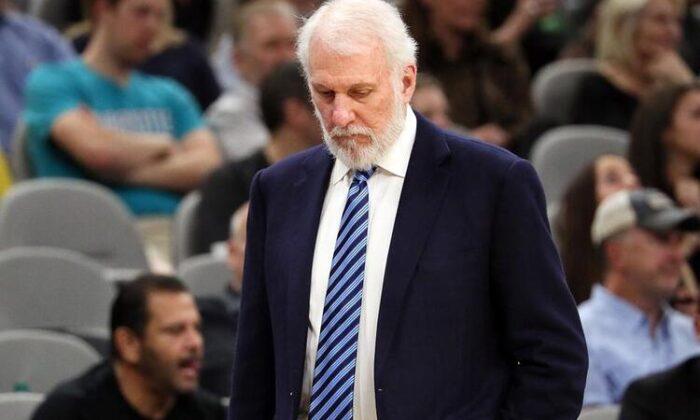 San Antonio Spurs Başantrenörü Gregg Popovich'ten George Floyd tepkisi!