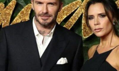 Victoria Beckham, güldü
