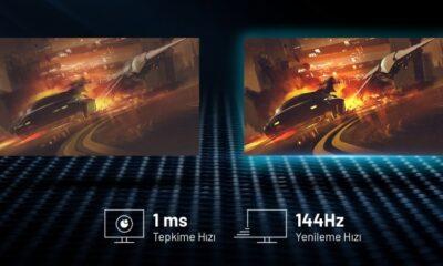 "144Hz'li Yeni Excalibur 27"" oyun monitörü satışta"