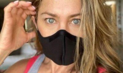 Jennifer Aniston: Şu lanet maskeyi takın