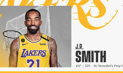Los Angeles Lakers, Jr. Smith'i kadrosuna kattı