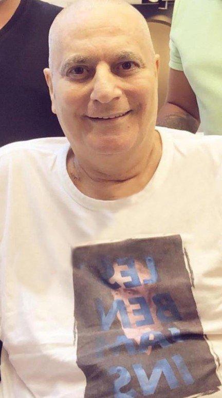 Mehmet Ali Erbil, saçlarını kestirdi #1