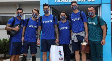 Trabzonsporda final öncesi koronavirüs test sonuçları negatif
