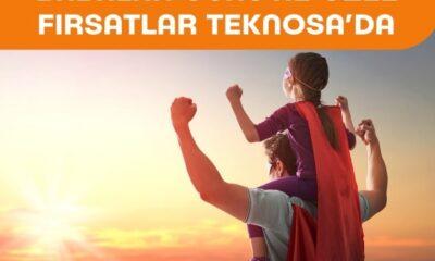 Teknosa'dan babaları mutlu edecek kampanyalar