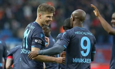 Trabzonspor kafilesi Kayseri'ye gitti! Nwakaeme kadroda yok