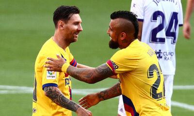Valladolid 0-1 Barcelona