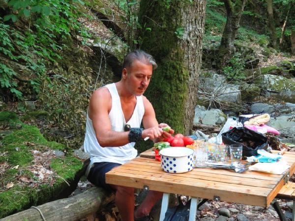 Barış Falay, Kaz Dağları'nda
