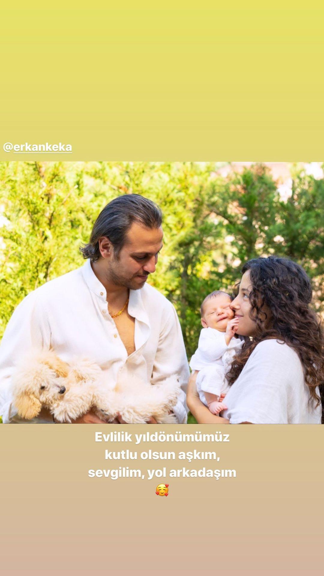 Cansu Tosun dan evlilik yıl dönümü paylaşımı #1