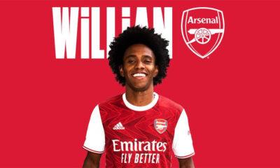 Chelsea'den ayrılan Willian Arsenal'de! Son Dakika Transfer Haberleri