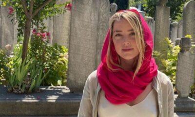Johnny Depp'in eski eşi Amber Heard İstanbul'a geldi