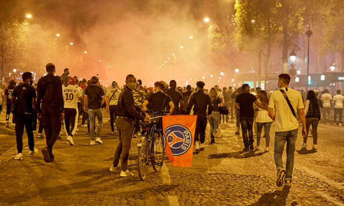 PSG-Bayern Münih finali sonrası Paris'te olay! 148 gözaltı