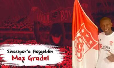 Son dakika | Sivasspor, Max Gradel transferini açıkladı